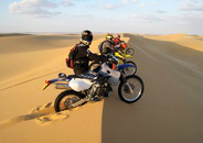 The Western Desert <br> By Motorbikes